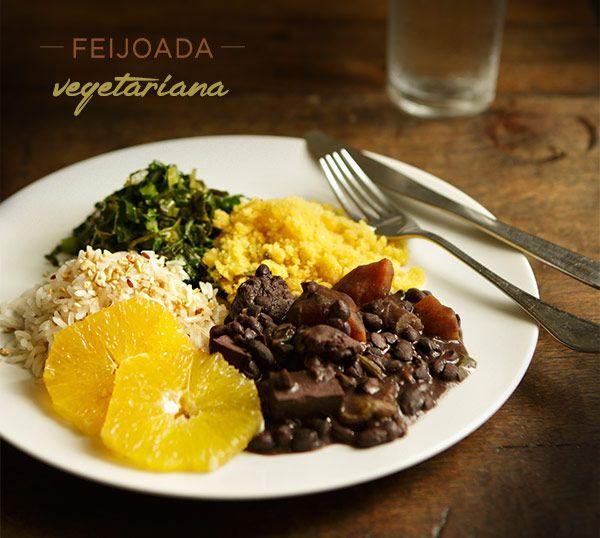 Feita apenas em legumes, grãos e temperos, a feijoada vegetariana é uma opção saborosa do tradicional prato brasileiro. Boa ideia para o almoço de domingo
