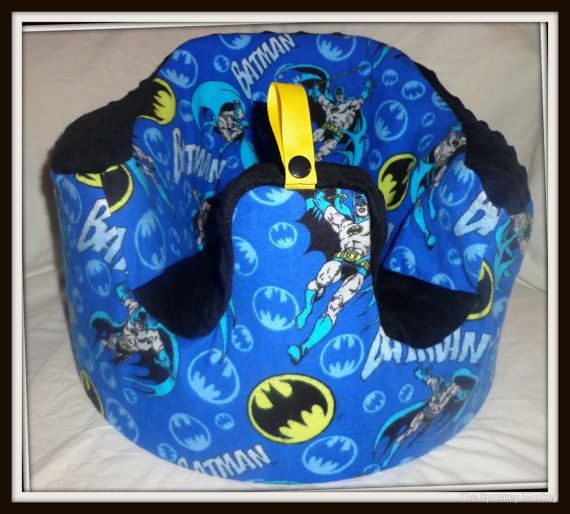 Hey, I found this really awesome Etsy listing at https://www.etsy.com/listing/106450228/batman-bumbo-seat-cover