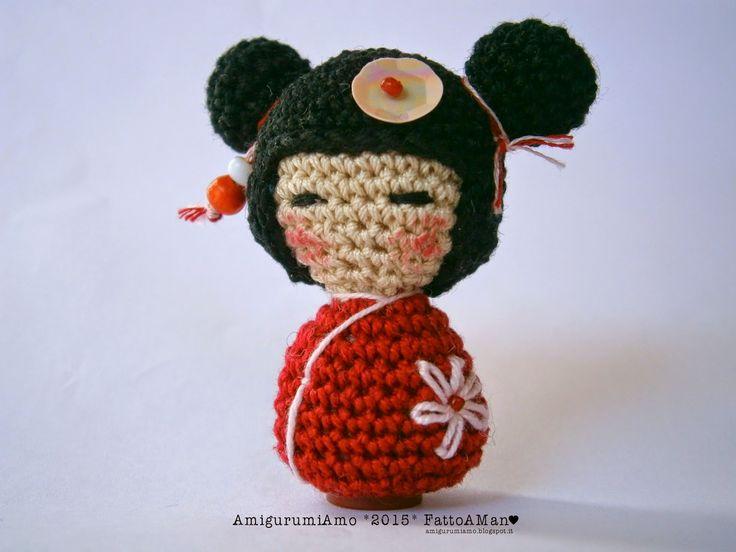 Amigurumi Doll Gratuit : 19 best kokeshi images on pinterest amigurumi doll kokeshi dolls