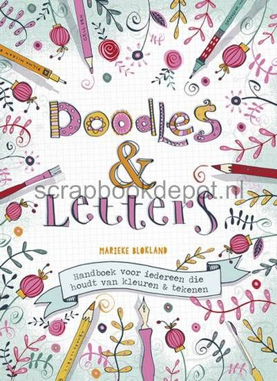 Boek Doodles & Letters, Marieke Blokland