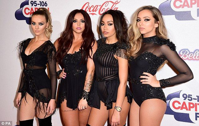 Ready to party: Little Mix are raring to go, as they exclusively revealed to MailOnline th...