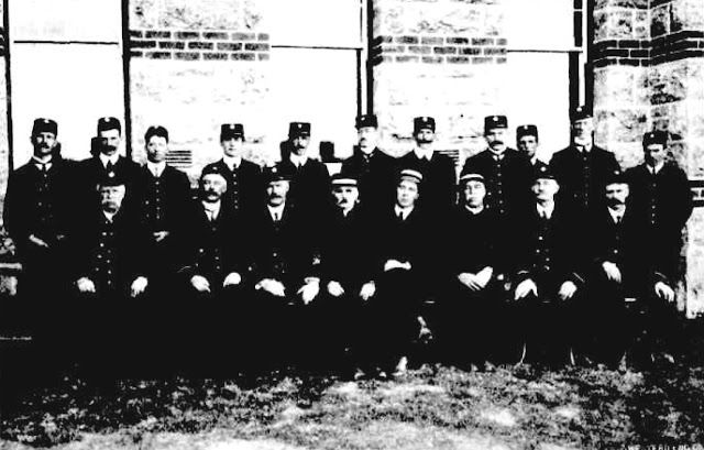 Some of the Male Attendants of the Claremont Hospital for the Insane, Western Australia, in 1912