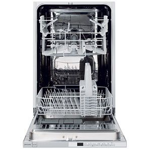 John Lewis JLBIDW901 Integrated Slimline Dishwasher  White Free 2 Year  Guarantee. Designed For Kitchens. Apartment Size ...