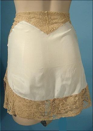1920's Fanny Hyman's Silk Blue Light Blue Tap Pants