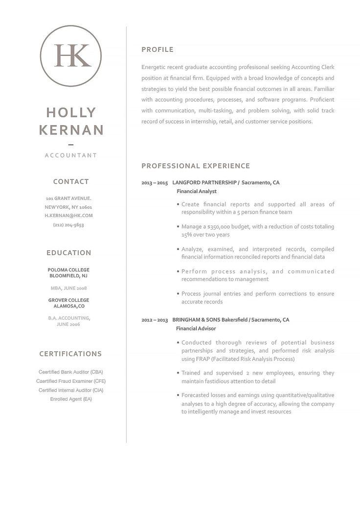 Classic Resume Template 120060 Resumeway Accountant Resume Resume Template Resume Design Template