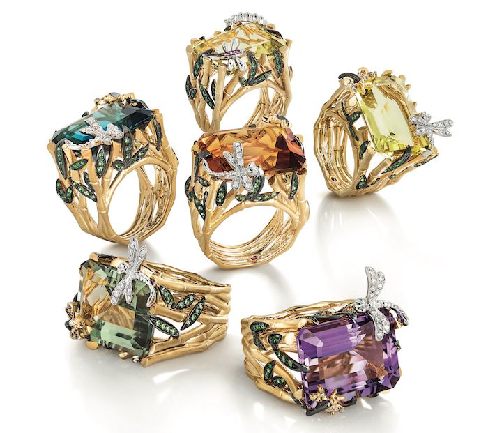 Forbes:  Best Cocktail Rings_Roberto Coin Garden Collection