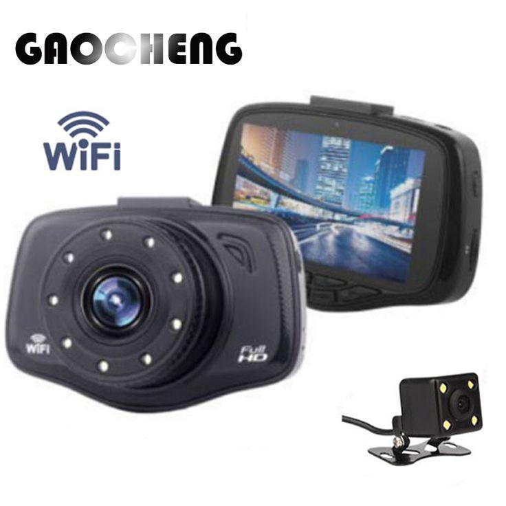 Baru 3.0 Wifi Mobil Dvr Full HD 1080 P Mobil Dvr Perekam video 9 Lampu LED 150 derajat Mobil Kamera Dasbor Cam Dukungan Rear view kamera