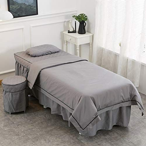 Alhbnay Round Head Massage Bed Cover Beauty Salon Spa Acupuncture