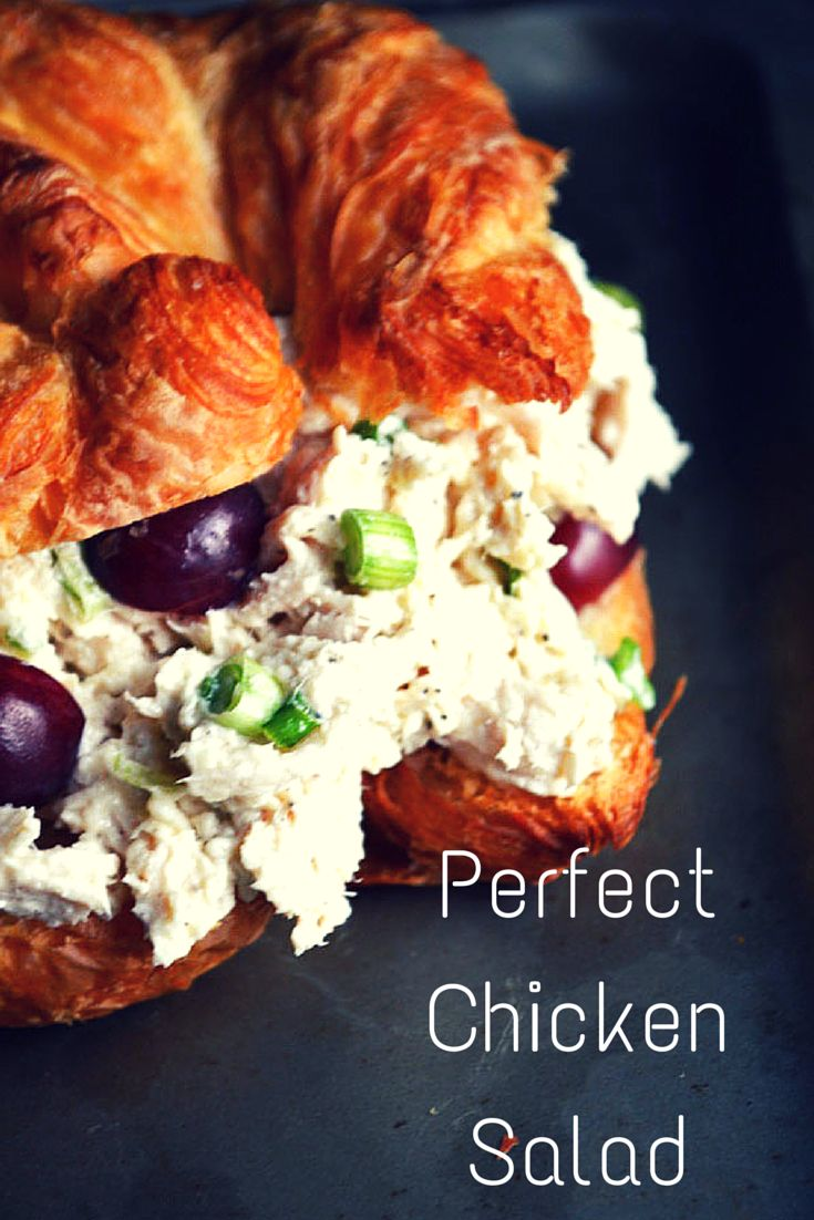 This Chicken Salad is so perfect! The best I've ever had.
