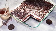 Met dit gelaagde dessert zullen ze vechten om wie de kom mag schoonlikken.
