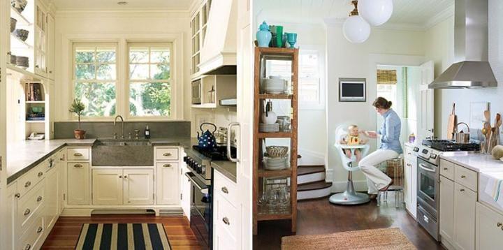 Consejos de decoraci n para cocinas peque as deco for Decoracion de cocinas pequenas