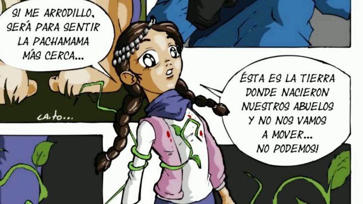 REPRESION GENOCIDA DEL GOBIERNO DE MACRI A MENOR DE 11 AÑOS Naomi Caito ...