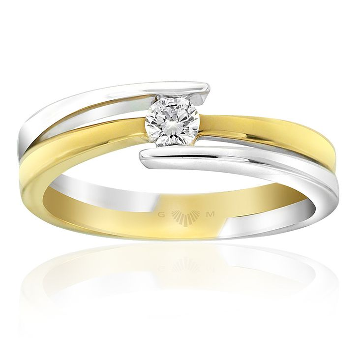 Celebrate life and love with the [ORO]3 Present Moment diamond ring. Crafted in 18ct white and yellow gold. [ORO]3 rings are custom made for your finger size. Delivery is approximately 6 weeks. Pre order now.
