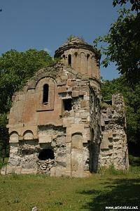 Rabat kilisesi/Lengethev(Bulanık)/Ardanuç/Artvin/// Kara Yusuf (Zortul) kümbeti/Erciş/Van/// Eski adı Ermenice, Lengethev. Gürcüler de aynı ismi kullanmışlar. Türkçe ismi Bulanık. Eskiden üç halk bir arada yaşarmış. Kilise hâlâ duruyor.