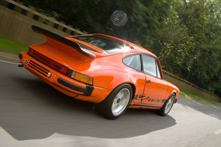 Lime Green 1974 2.7 and 1976 Orange 3.0 Carrera — The ...