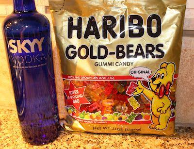 Best Recipe for Drunken Gummy Bears!
