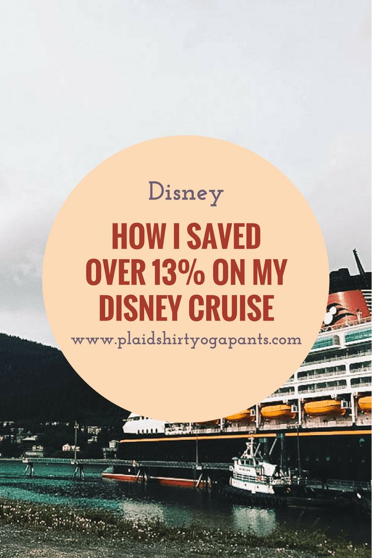 I am a big Disney fan, but most recently I have become a HUGE Disney Cruise fan. I'm in the process of saving and planning a Disney cruise to the Mediterranean. Even though I genuinely believe that a Disney Cruise is worth every single penny, I still love saving a buck or two whenever I can. Click to read how I saved over 13% on my upcoming Disney Cruise.