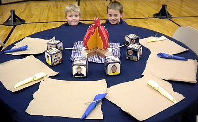 Cub Scout Blue And Gold Banquet Centerpieces The Great