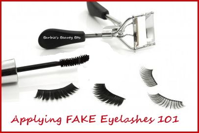 The easiest  way to apply fake eyelashes. #beauty, #Tips