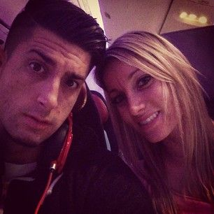 Jesse and Jeana on 16hr flight!
