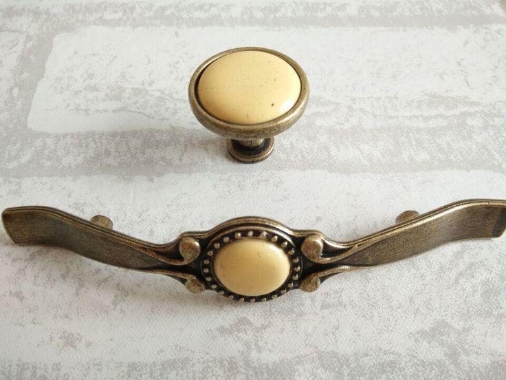 Beige Dresser Knob Drawer Knobs Pulls Handles Kitchen Cabinet Knobs Pull  Handle Ornate Furniture Door Handles Part 89