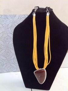 Lemonade. Leather Necklace. IDR 90.000