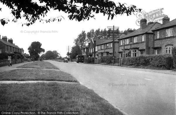 Lutterworth, Leicester Road c.1955, from Francis Frith