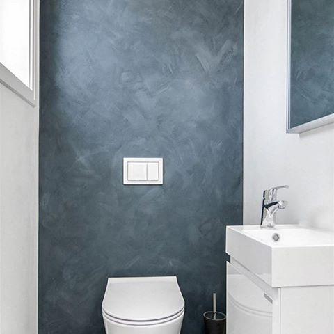 Ett kult lite bad hos @jarlsoveien7  Her med MIE Slim vask som er kun 38 cm dyp og passer utrolig godt til små/smale baderom. #vikingbad #baderomsmøbel #baderom #baderomsinspo #baderomsinspirasjon