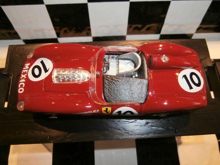BRUMM R155 Ferrari 250TRS 60 #143scale P.Rodriguez #Nascar#Mexico#sempervirens1