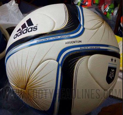 Desvelado el diseño del balón Adidas Argentum 2015