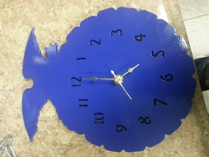 FFA Emblem clock...I shall have this clock in my classroom.  I need to find someone to make this!
