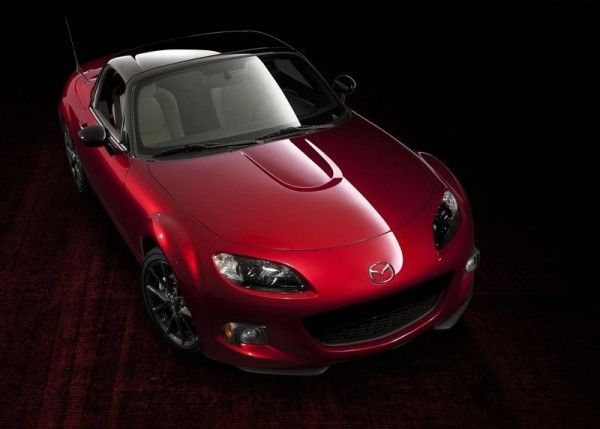 2014 Mazda MX 5 25th Anniversary Front View 600x429 2014 Mazda MX 5 25th Anniversary Review