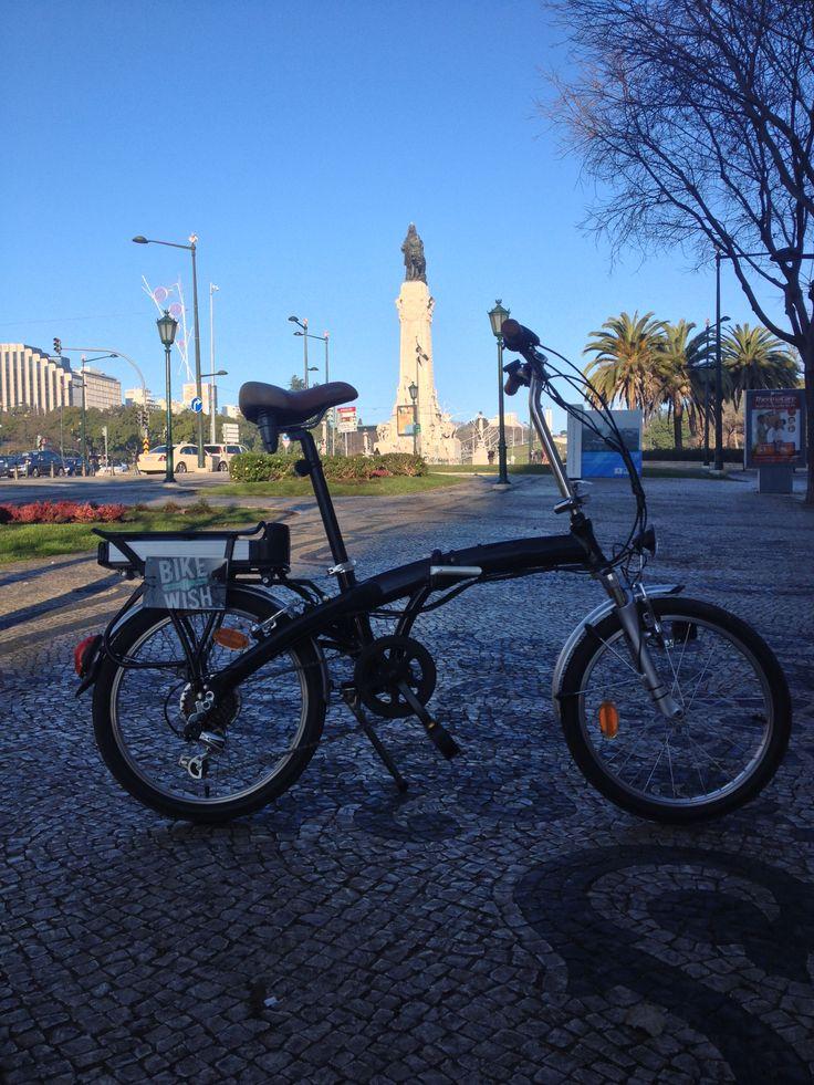 Marquês de Pombal, Lisbon  www.bikeawish.com