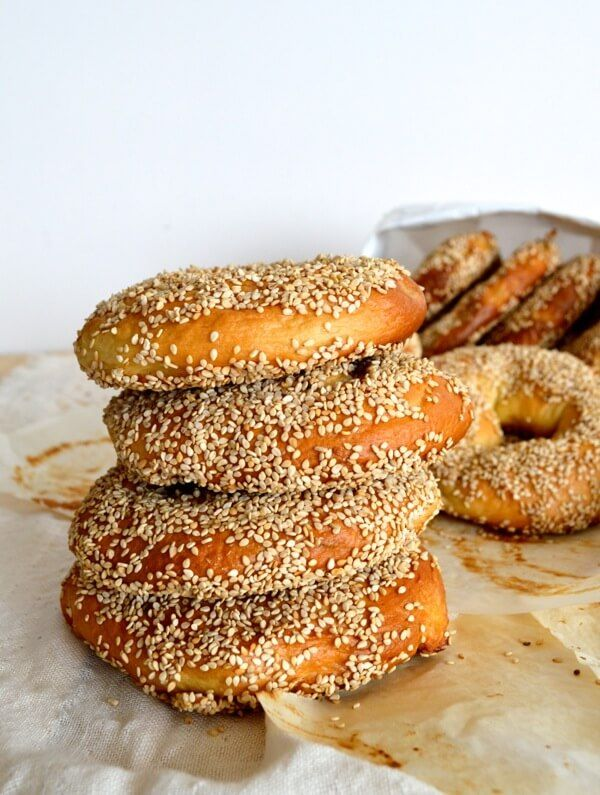 Homemade Montreal Bagels, by thewoksoflife.com