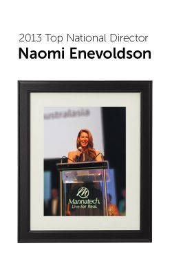 2013 Top National Director Naomi Enevoldson  Creating a successful business takes commitment, consistency and patience, and each Business Period we see a list of Associates who have taken their leadership to the next level with these attributes.  Congratulations to the following Leaders who have reached new leadership levels in the most recent BP. In appreciation of their achievements we have created an exclusive online leadership gallery that will be updated regularly.