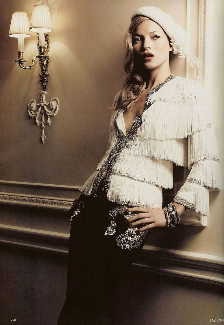 metal....fringe....metal....fringe....metal....fringe....metal....fringe....repeat. :): Vogue, Baileys, Style, Editorial, Katemoss, Fashion Photography, December 2007, Kate Moss