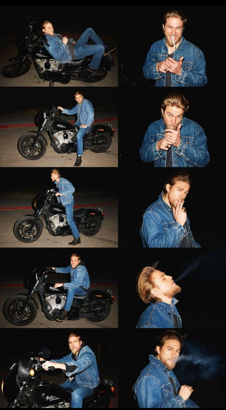 Charlie Hunnam y una sesión de fotos casual
