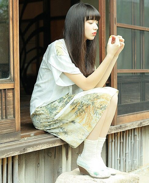 ohta 2015ss model : 小松菜奈