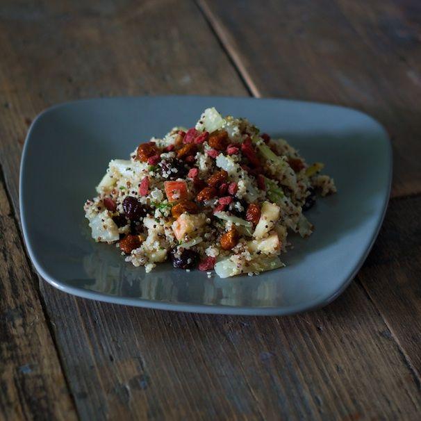 Quinoa salade met goji besjes