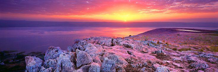 Holy Land : SEA OF GALILEE, MT ARBEL