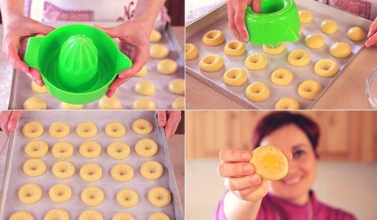BISCOTTI ALL'ARANCIA Ricetta Facile - Orange Cookies Easy Recipe | Fatto in casa da Benedetta