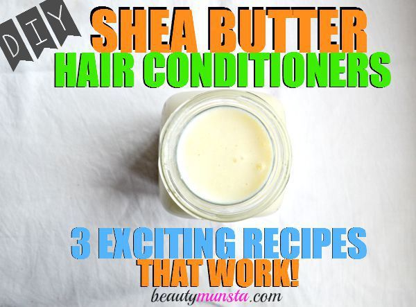 It's easy to make your own Shea butter hair conditioner at home. This is my favorite easy DIY Shea butter hair conditioner recipe with coconut milk and jojoba oil!