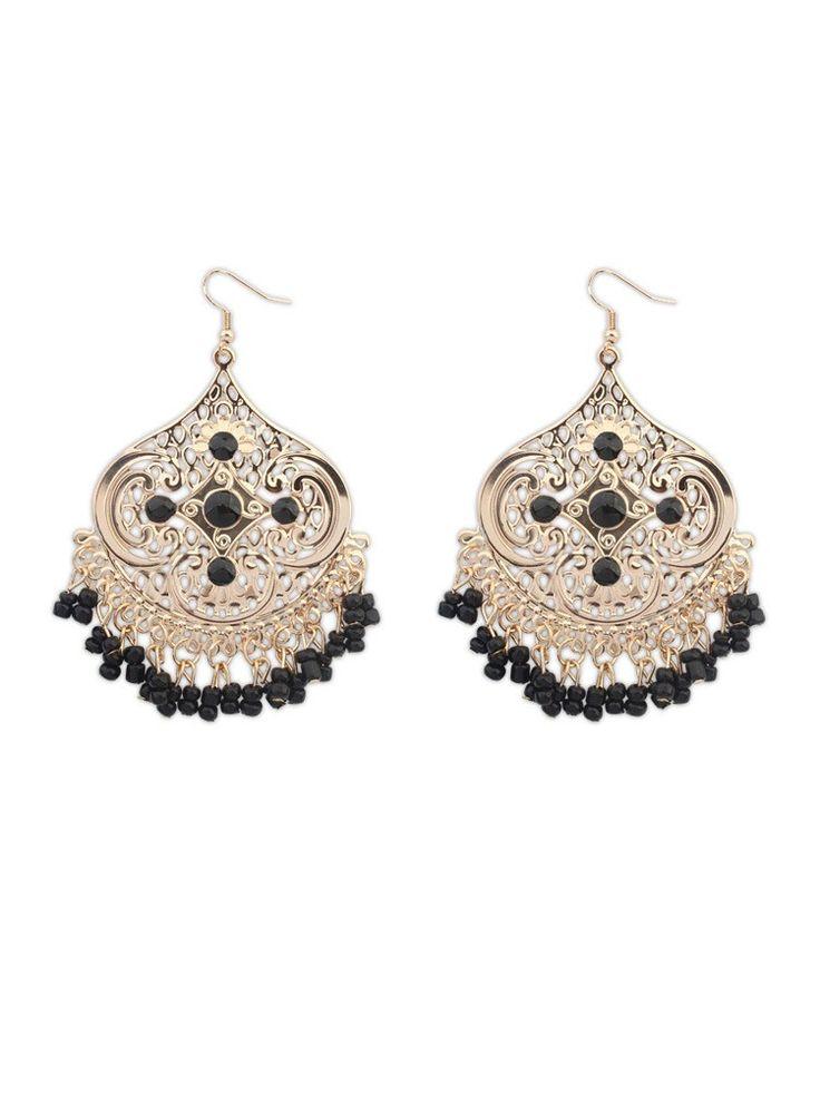 Bohemian Irregular Tassel Earrings