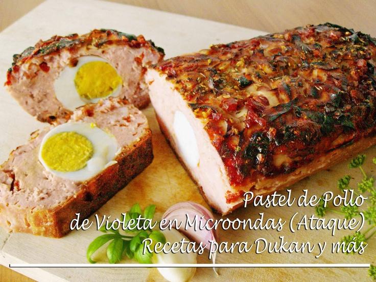 Pastel de pollo de Violeta en Microondas / Pan de pollo (Ataque)  Suscríbete a mi canal, es gratis http://www.youtube.com/subscription_center?add_user=mmb2412
