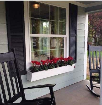 New Farmhouse Exterior Colors Joanna Gaines Window Boxes Ideas