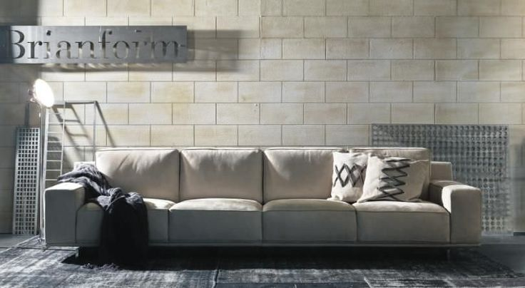 Brianform Sofas are now exclusively available at SydneySide.   BABYLON - 4 seater contemporary sofa