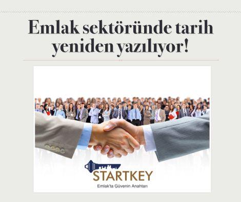 Emlak sektöründe tarih yeniden yazılıyor!   http://startkey.com.tr/franchise-firsati