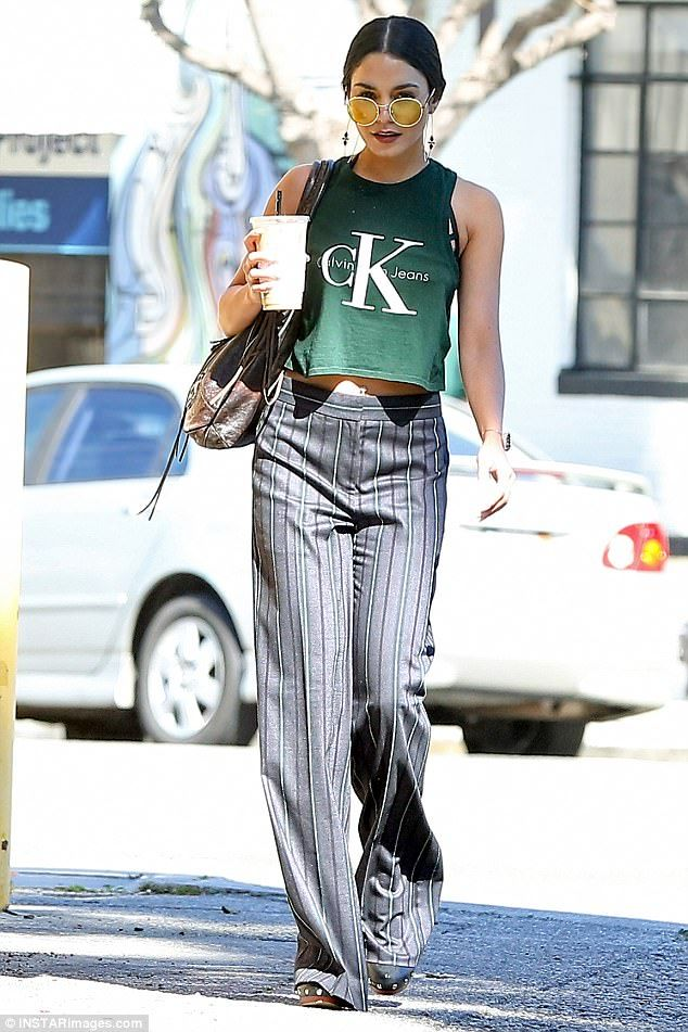 This looks familiar: Vanessa Hudgens stepped out in LA on Tuesday resembling Kendall Jenne...