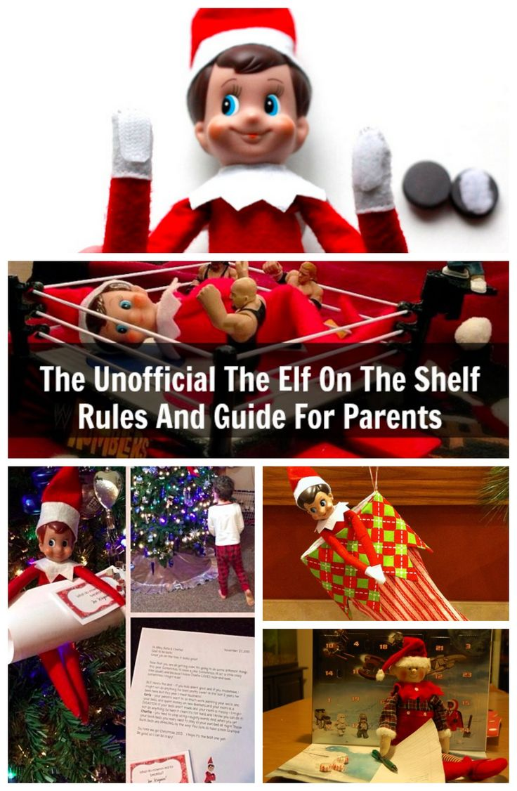 The Unofficial Elf On The Shelf Rules For Parents #elfontheshelf #christmas #elfshelf