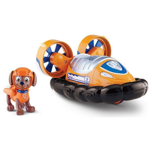 Buy PAW Patrol Zuma and Zuma's Hovercraft at Argos.co.uk - Your Online Shop for Action figures and playsets, Toys.
